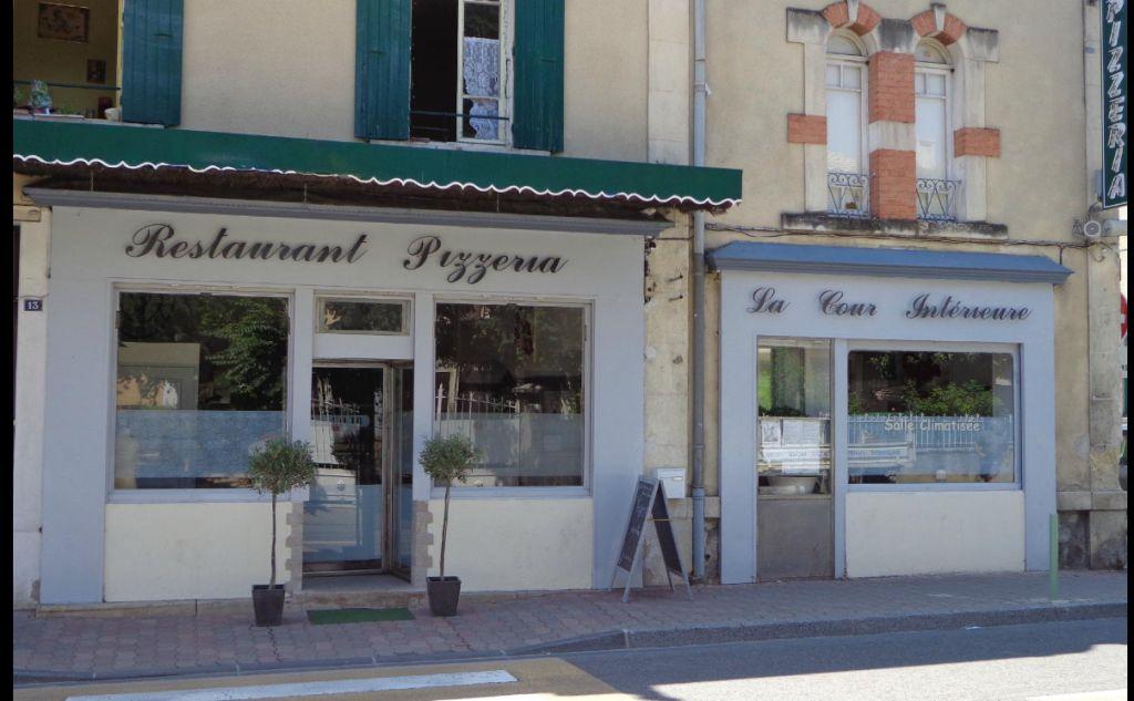 Resto Pizzeria La Cour Intérieure - Nyons