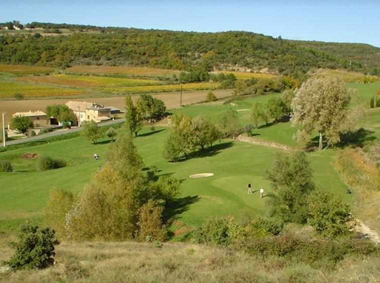 Le golf de Clansayes